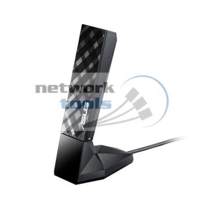 ASUS USB-AC55 Wi-Fi адаптер USB стандарта AC 1300Mbps