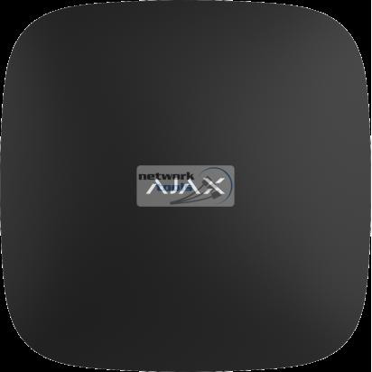 Интеллектуальный центр системы безопасности Ajax Smart Hub (GSM+Ethernet), Jeweller (цвет белый, чёрный)