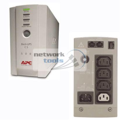 APC BK500EI Back-UPS CS 500VA Источник бесперебойного питания ИБП UPS для ПК