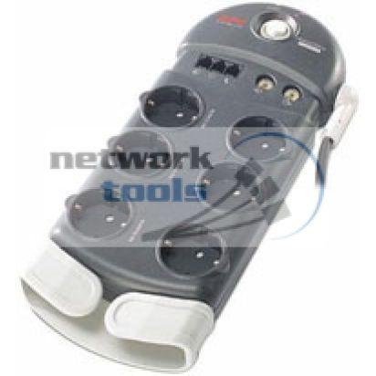 APC PH6T3-RS Сетевой фильтр на 6 розеток и телефон
