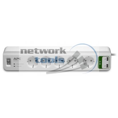 APC PM5U-RS Сетевой фильтр на 5 розеток и 2 USB