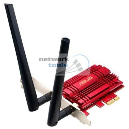 ASUS PCE-AC56 Двухдиапазонный PCI Exp адаптер Wi-Fi стандарта AC 1300Mbps