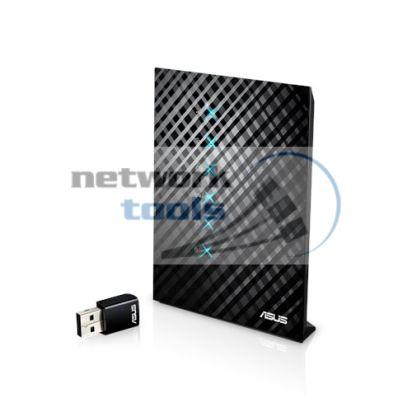 ASUS RT-AC52U pack Маршрутизатор Wi Fi стандарта 802.11ac + USB-адаптер