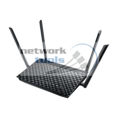 ASUS DSL-AC52U Гигабитный Wi-Fi маршрутизатор с ADSL2+ модемом AC750