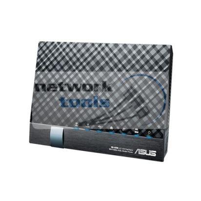 ASUS DSL-AC56U Гигабитный Wi-Fi маршрутизатор с ADSL2+ модемом AC1200
