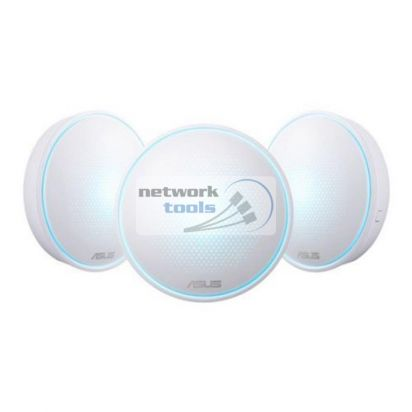 Asus Lyra MAP-AC2200-3PK Двухдиапазонная Mesh система 3-шт Wi-Fi 802.11ac