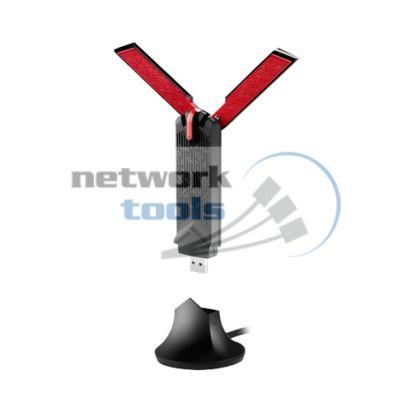 ASUS USB-AC68 Двухдиапазонный беспроводной USB-адаптер на подставке