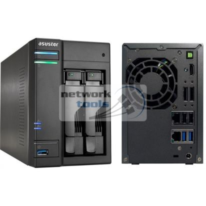 ASUSTOR AS6102T Cетевое хранилище NAS на 2xHDD 2.5/3.5