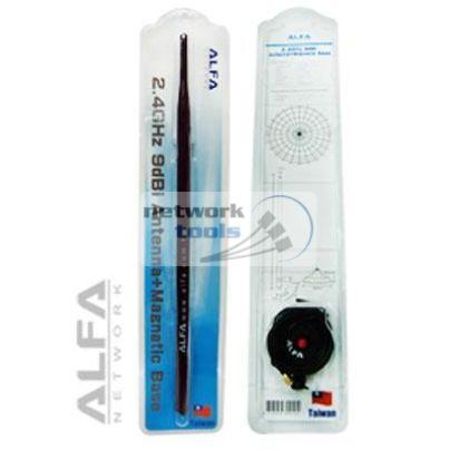 Alfa Network ARS-N19M Антенна Wi-Fi на магнитной подставке 9dBi