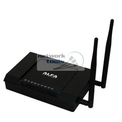 Alfa Network AIP-W525H Высокомощный Wi-Fi маршрутизатор-точка доступа 300Mbps