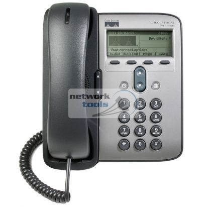 Cisco CP-7911G-RF Телефон IP 192x64 display