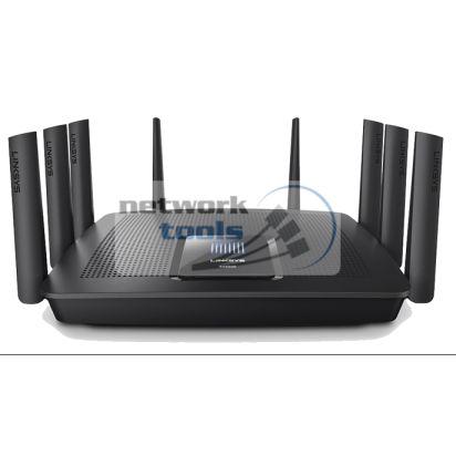 Linksys EA9500 Маршрутизатор Wi-Fi 802.11 ac, 2.4 ГГц,  5 ГГц, USB