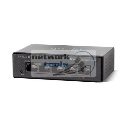 Cisco SB SF110D-05 Коммутатор неуправляемый 5-портовый 100Мбит