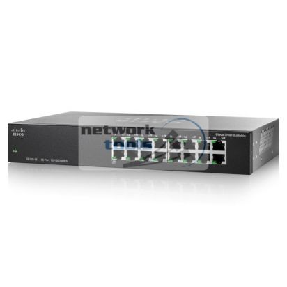 Cisco SB SF110-16 Стоечный коммутатор неуправляемый 16-портовый 100Мбит