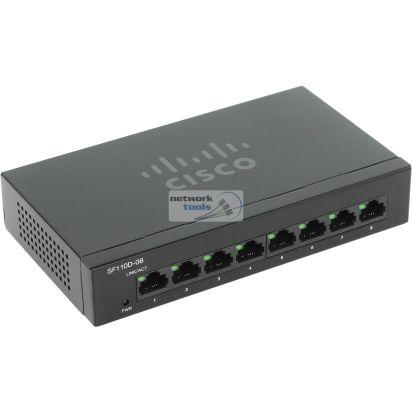 Cisco SB SF110D-08 Коммутатор неуправляемый 8-портовый 100Мбит