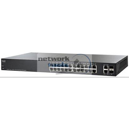 Cisco SB SF220-24P-K9 Коммутатор управляемый 24-портовий c POE