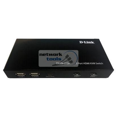 KVM-переключатель D-Link DKVM-210H