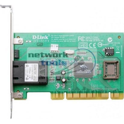 D-Link DFE-551FX Сетевая карта 100Мбит PCI