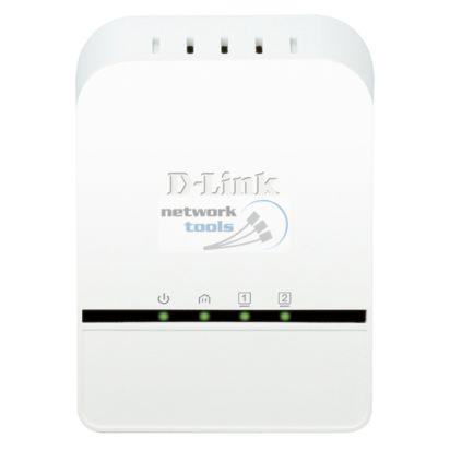 D-Link DHP-328AV Сетевой адаптер PowerLine 200Мбит
