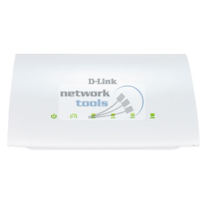 D-Link DHP-346AV 4-портовый Powerline коммутатор 200Мбит