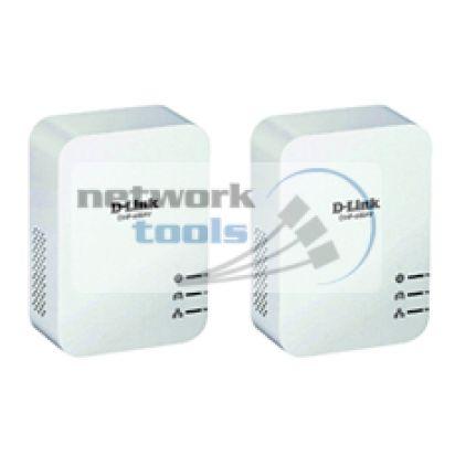 D-Link DHP-601AV Комплект сетевых адаптеров PowerLine до 600Мбит