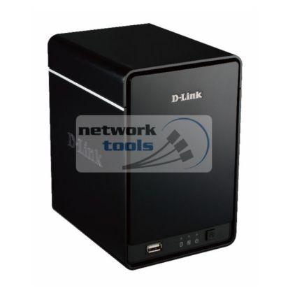 D-Link DNR-326 Cетевой дисковый массив под видеонагляд на 2xHDD