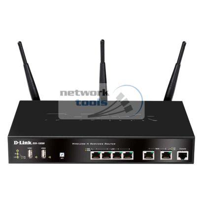 D-Link DSR-1000N Маршрутизатор-межсетевой экран с WiFi
