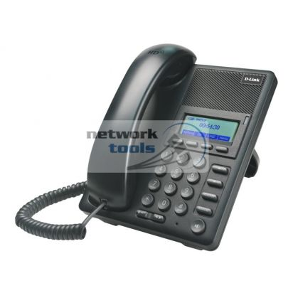 D-Link DPH-120S/F1 IP-телефон с монохромным дисплеем