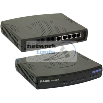 D-Link DVG-5004S Шлюз VoIP 4xFXS порта
