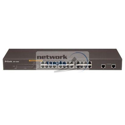 D-Link DES-1026G Коммутатор неуправляемый 24-портовый 100Мбит и 2 порта 1Гбит