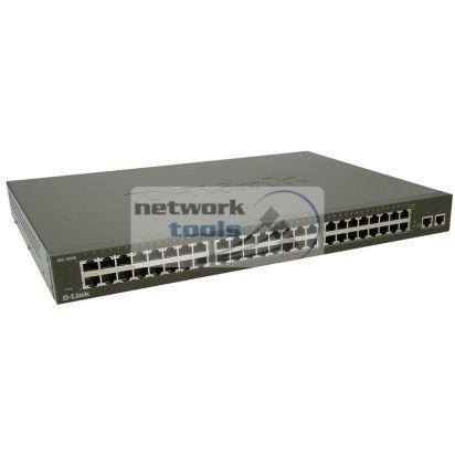 D-Link DES-1050G Коммутатор неуправляемый 48-портовый 100Мбит и 2 порта 1Гбит