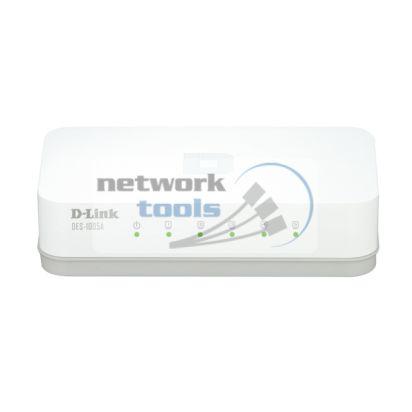 D-Link DES-1005A Коммутатор неуправляемый 5-портовый 100Мбит