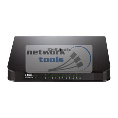 D-Link DES-1024A Коммутатор неуправляемый 24-портовый 100Мбит