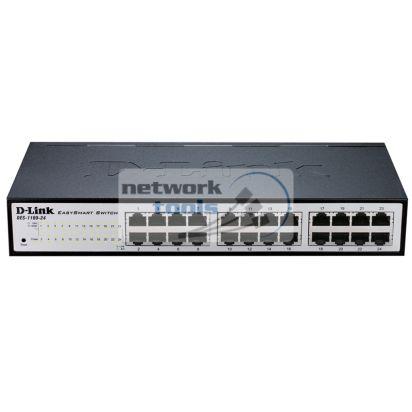 D-Link DES-1100-24 Коммутатор управляемый 24-порт 100Base-TX