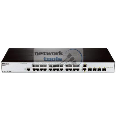 D-Link DES-3200-28 Коммутатор управляемый 24 порт 100Base-TX