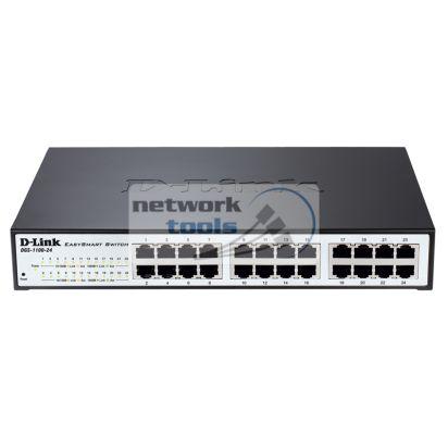 D-Link DGS-1100-24 Коммутатор управляемый 24-порт 1000Base-TX