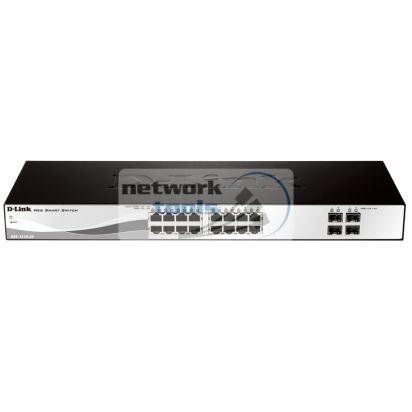 D-Link DGS-1210-20 Коммутатор управляемый 16 порт 100Base-TX 4 портами 1000Base-TX