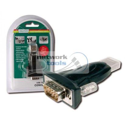 DIGITUS DA-70156 Адаптер USB to RS232