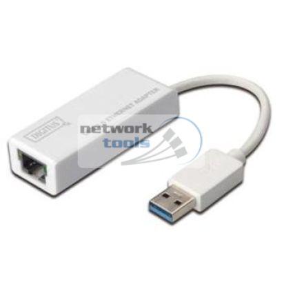 DIGITUS DN-3023 USB 3.0 to Lan RJ45 Сетевая карта адаптер USB 3.0