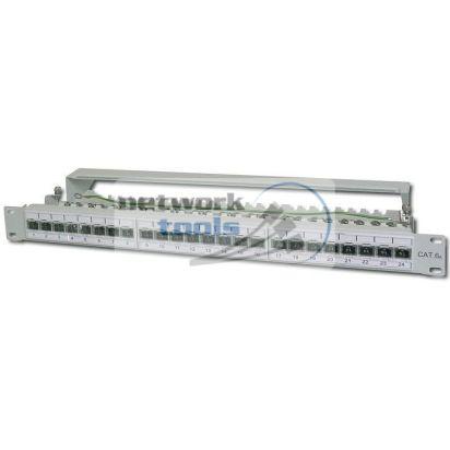 DIGITUS DN-91624S-EA патч-панель Cat.6a 24-порт FTP в сборе
