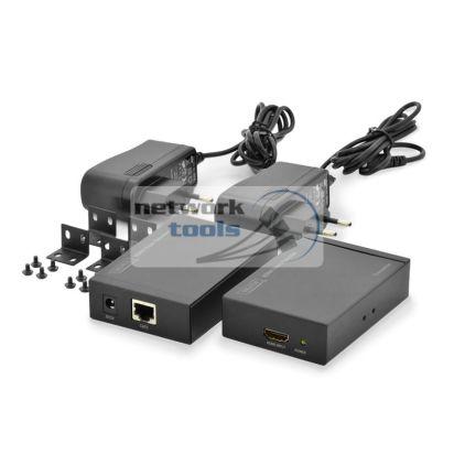 DIGITUS DS-55100 Удлинитель HDMI через UTP на 50 метров черный