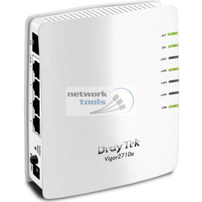 DrayTek Vigor2710e Маршрутизатор ADSL2+ с межсетевым экраном, 4*LAN