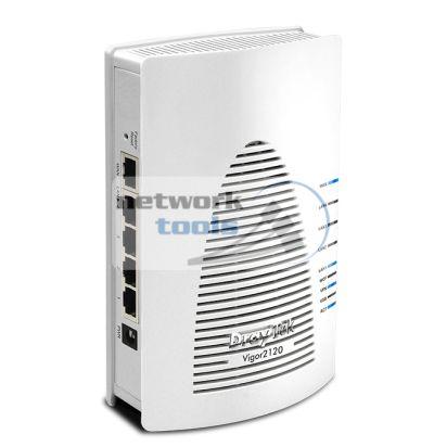 DrayTek Vigor2120 Маршрутизатор с поддержкой VPN с поддержкой 3G/LTE