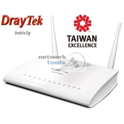 DrayTek Vigor2760n Двойной модем VDSL2 и ADSL2+, 2xUSB c WiFi