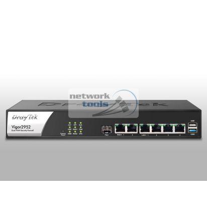 DrayTek Vigor2952 Гигабитный VPN маршрутизатор с комбо WAN портом