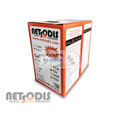 Витая пара Netsodis FTP 0.51 CU Cat.5E, медь