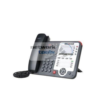 Escene ES410PE IP-телефон 4 линии, поддержка протокола SIP, 2 Ethernet порта 10/100 Мб/с, PoE