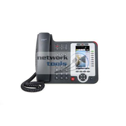 Escene ES620PE IP-телефон  8 линий, поддержка протокола SIP, 2 Ethernet порта, PoE