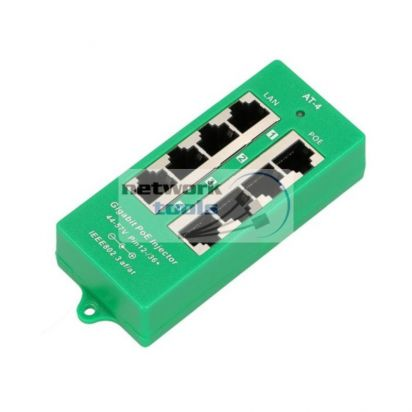 PoE инжектор ExtraLink POE4PG-802.3AT/AF на 4 порта Giga