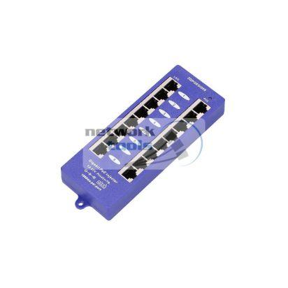 ExtraLink POE8PG Инжектор POE 8 портов Gigabit для IP-камер